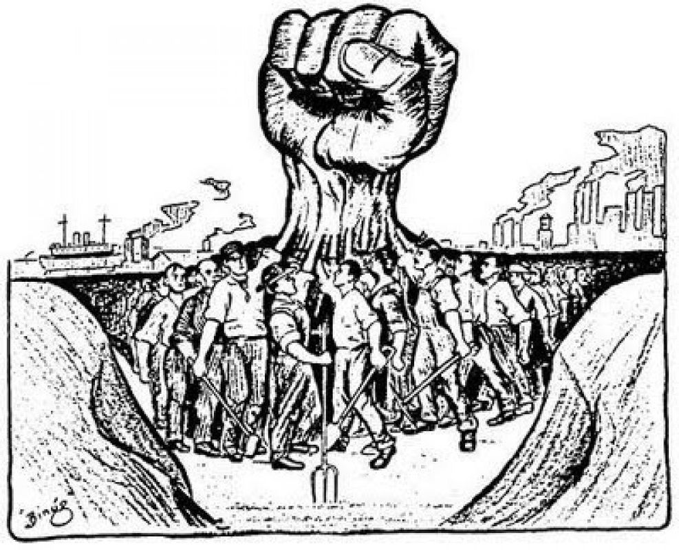 Labor Unions Industry Comes Of Age Illustrations Clipart For