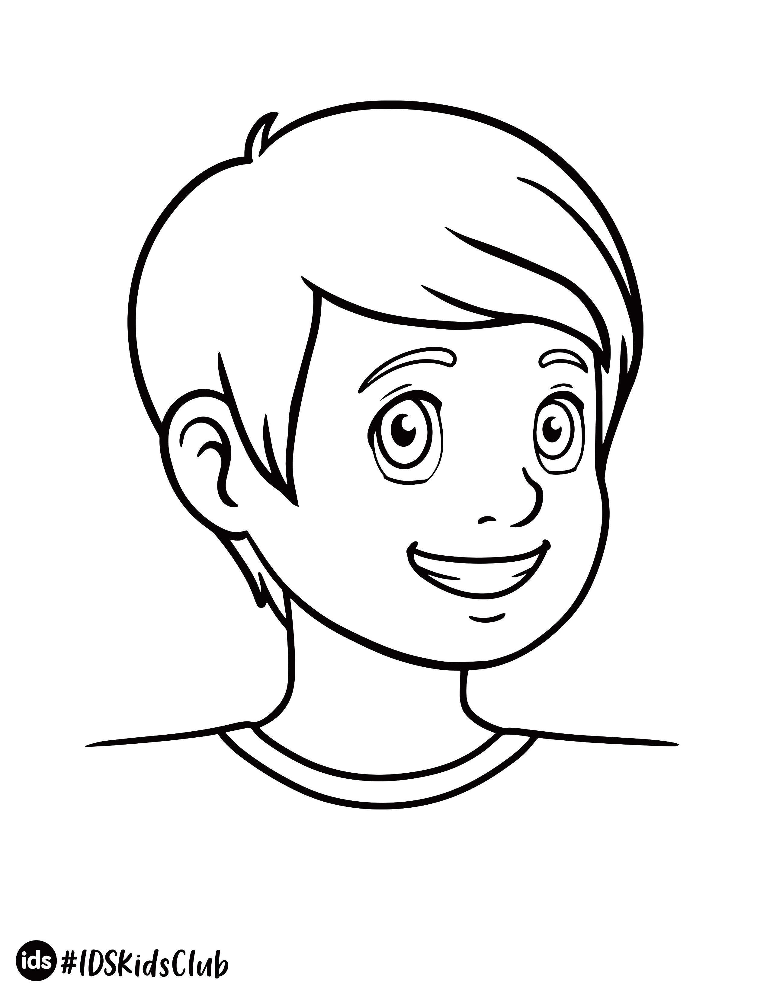 Ids Boy Coloring Page Coloring Pages Coloring Pages For Boys Drawing Activities