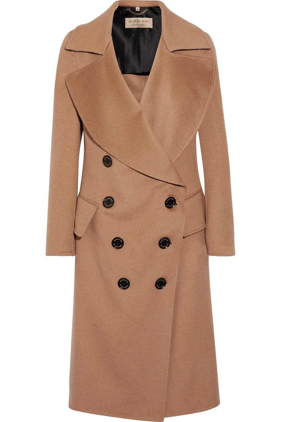 Burberry - Crewdale camel hair and wool-blend coat