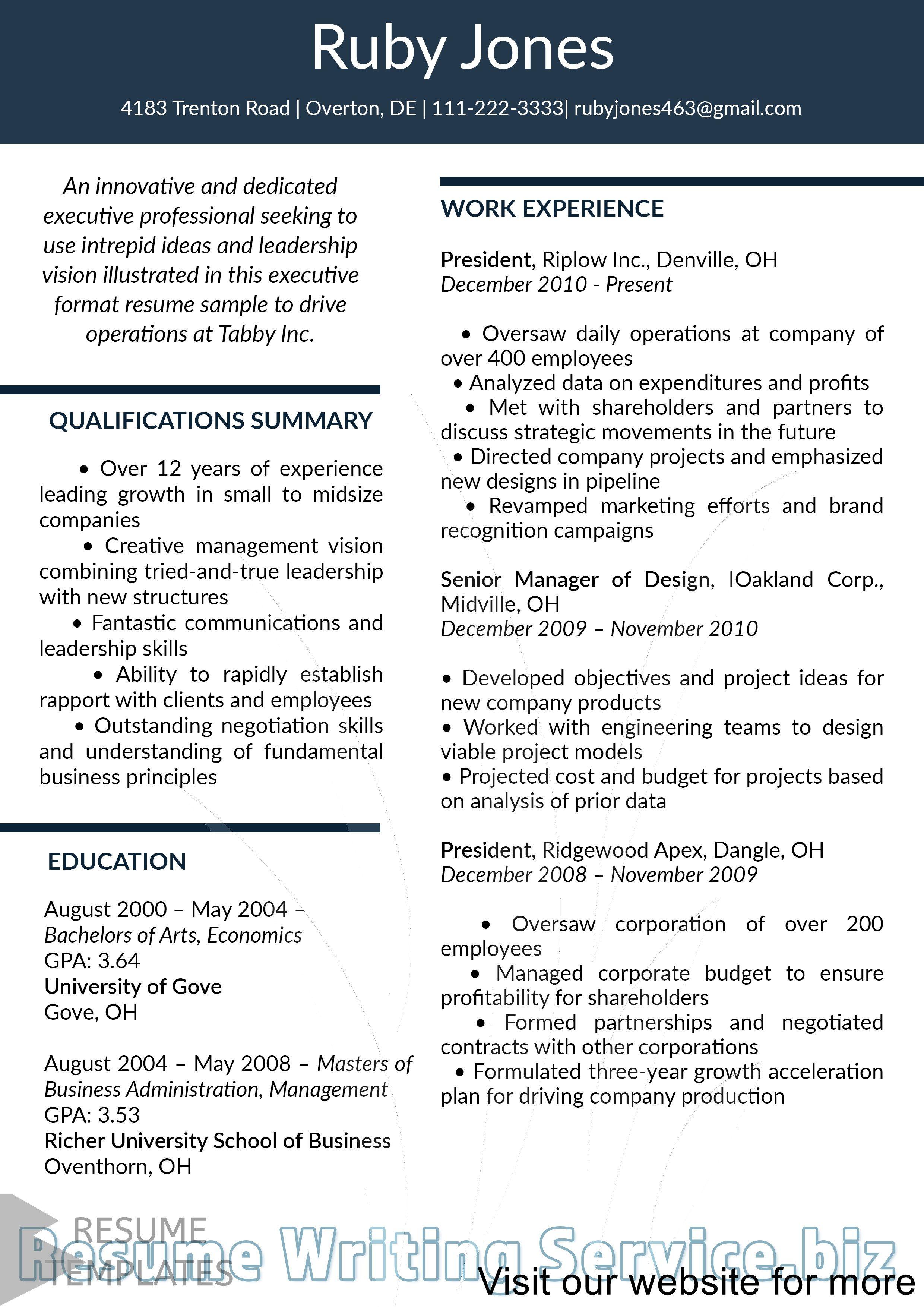 Non Chronological Chronological resume template, Resume