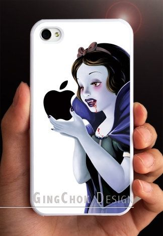 Vampire diaries iPhone 4 case, iPhone case for iPhone 4 or iPhone 4S. White Case.