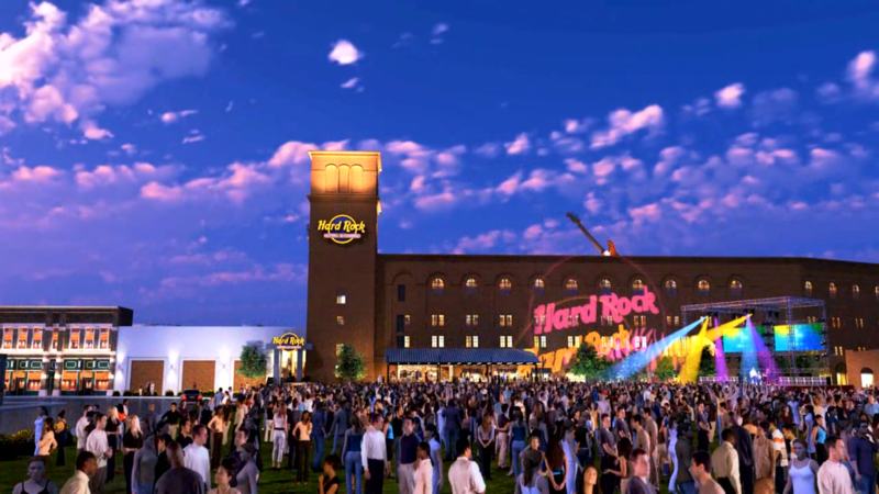 Hard Rock Casino Hotel Opens In Downtown Sioux City Hard Rock Casino Casino Hotel Sioux City