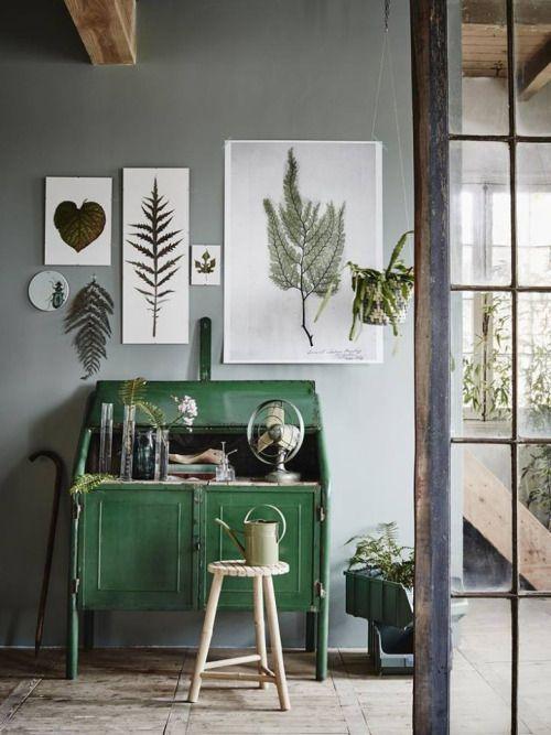 Pin von Mackenzi Sehon auf room house wall decor Pinterest - wohnzimmer grun grau streichen
