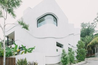 Green Greenberg Green House - modern - exterior - los angeles - by NEW THEME Inc.