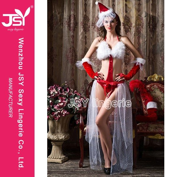 Santa Claus Women Cosplay Christmas Costume - Chirstmas - Products - WENZHOU JSY SEXY LINGERIE CO., LTD