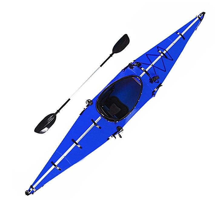 Skatebolt Folding Portable Kayak 12ft Lightweight Paddle Boat For