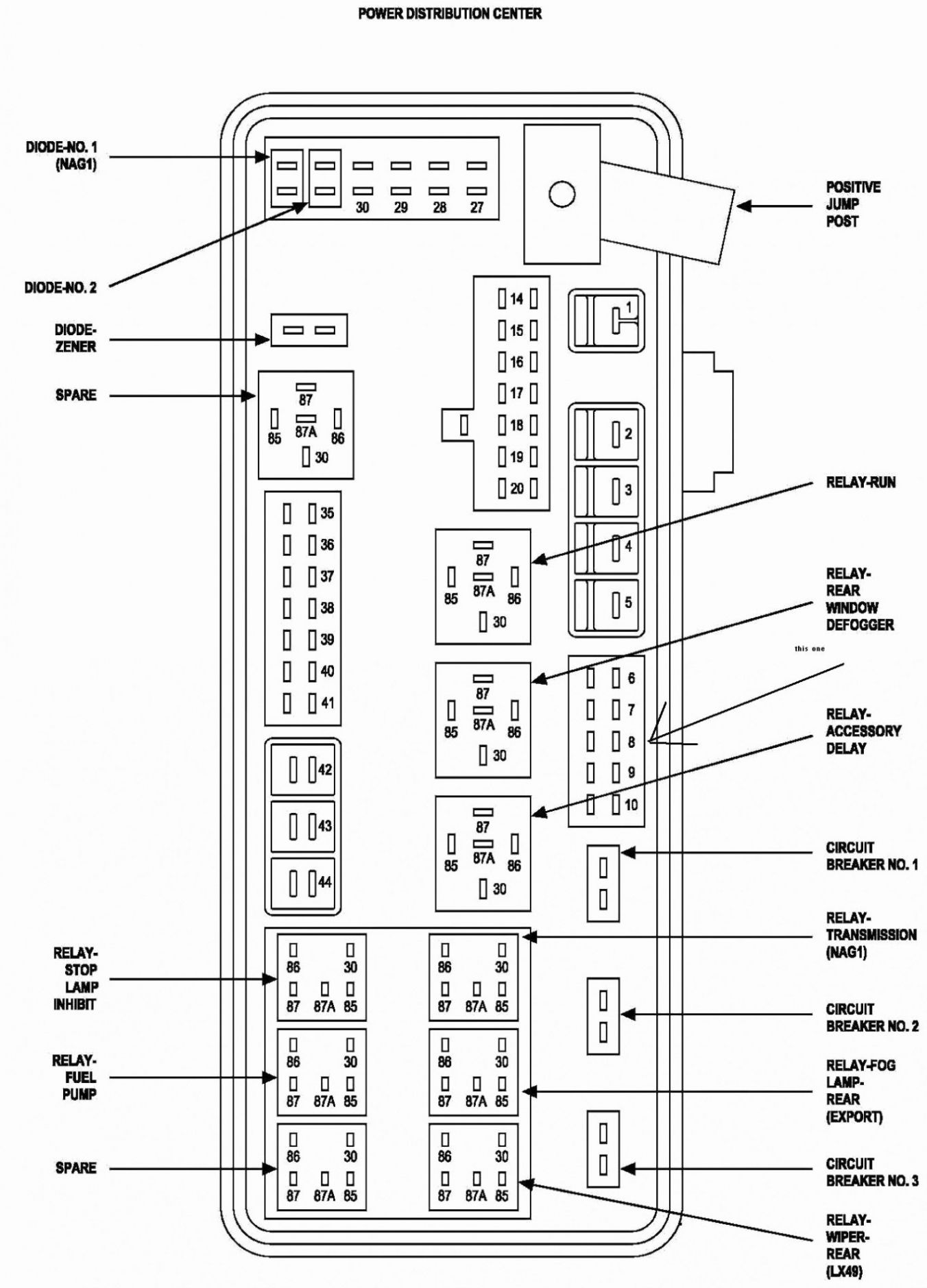 2006 Chrysler Pacifica Wiring Diagrams