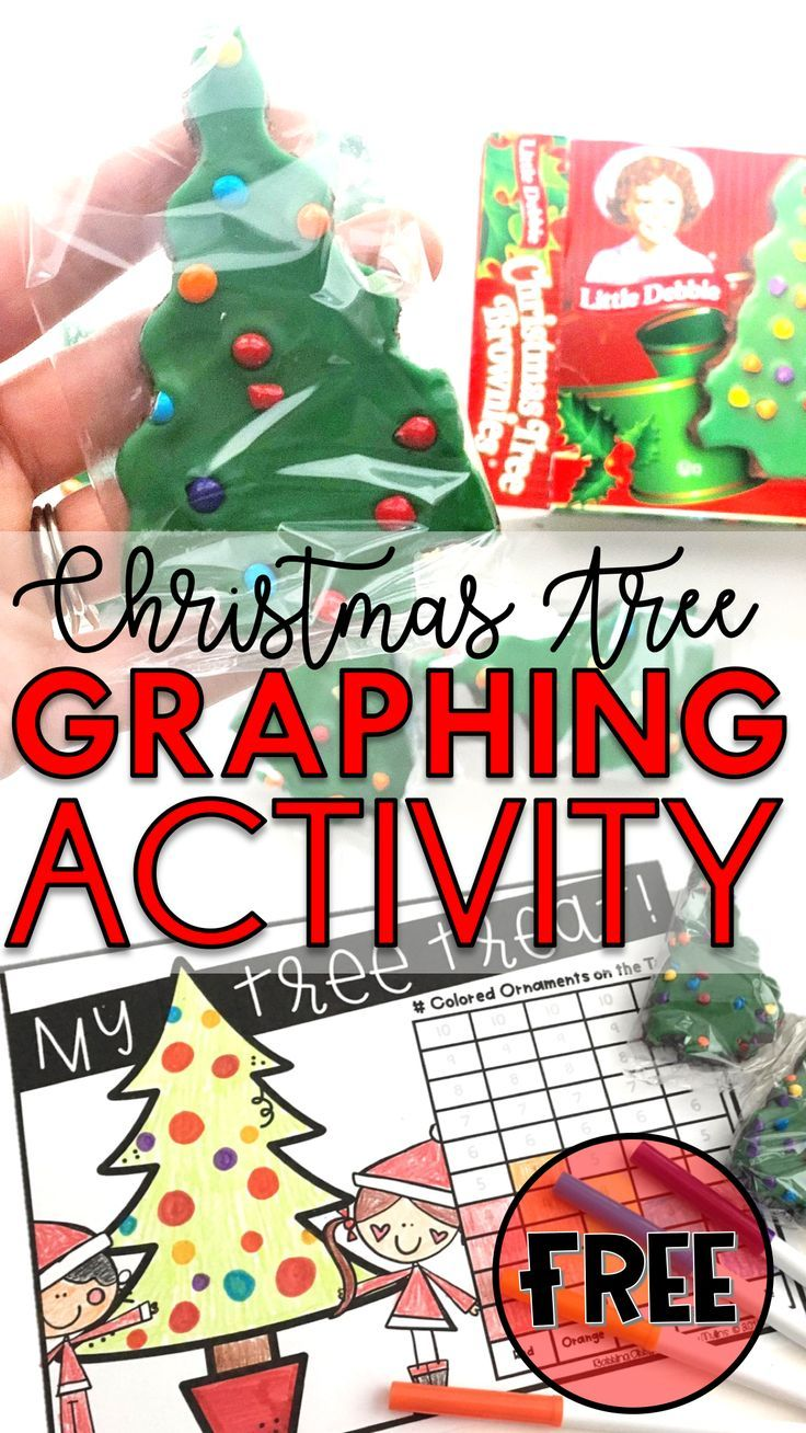 Christmas Graphing Activity for Kids Babbling Abby