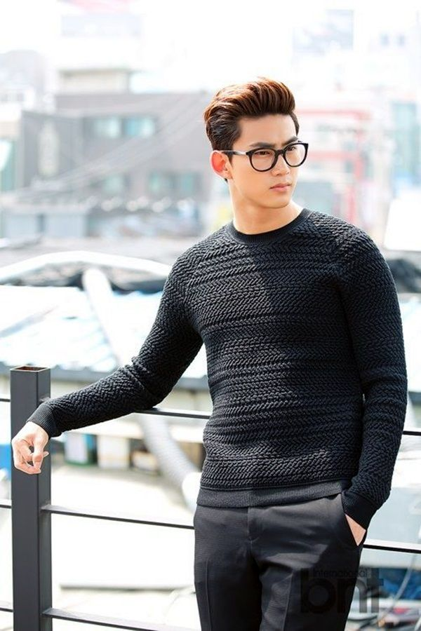 45 Charming Korean Men Hairstyles for 2016