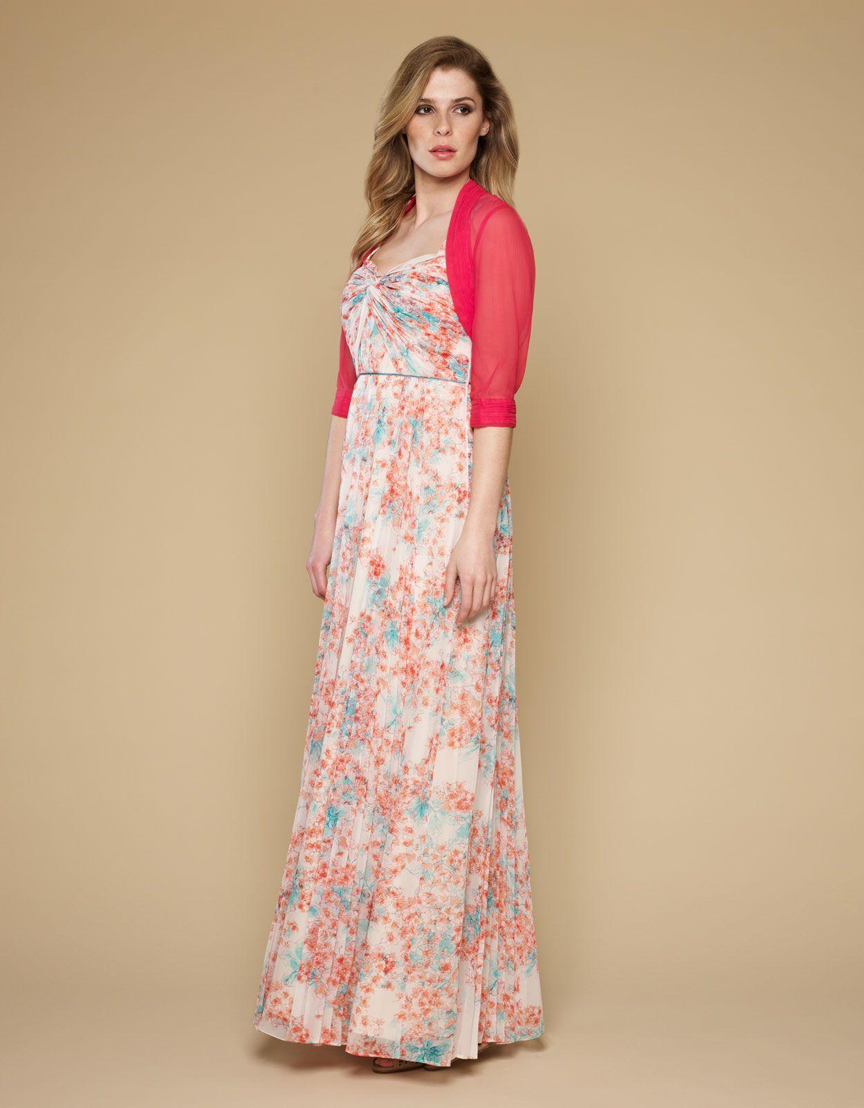 Maxi dress and shrug