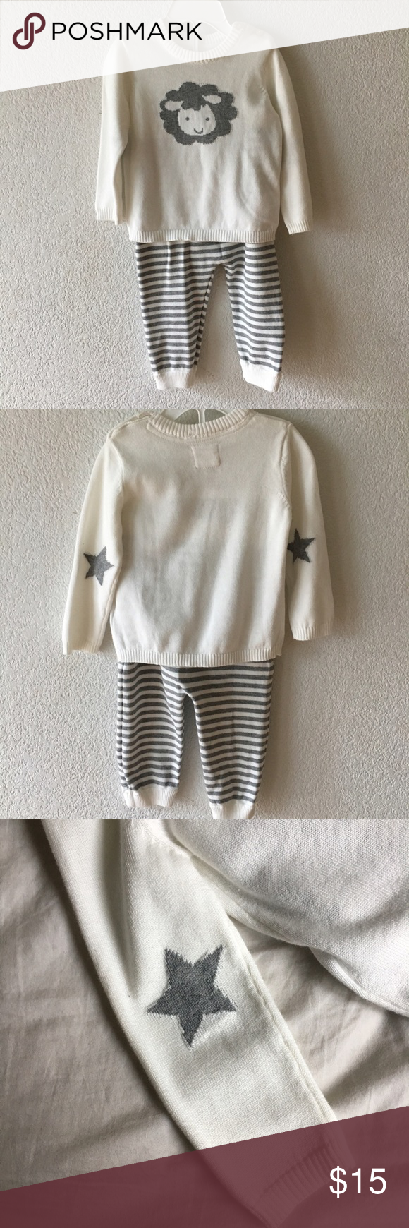 NWT Unisex Cotton Sweater and Pant Set | Sweater shirt, Matching ...