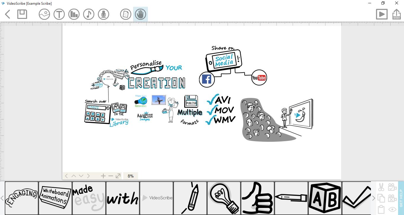 Videoscribe Merupakan Salah Satu Perangkat Lunak Pembuat Video Papan Tulis Secara Otomatis Perangkat Lunak Ini Di Luncurkan O Videoscribe Personalised Version