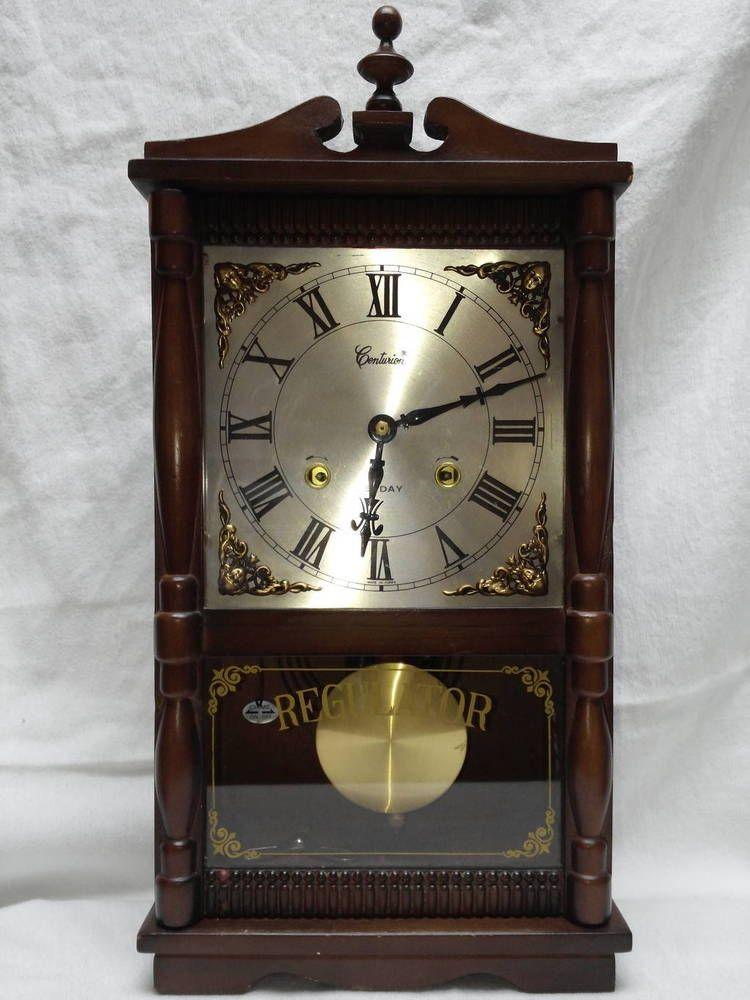 for sale vintage 1960 centurion 35 day regulator wall on wall clocks id=90092