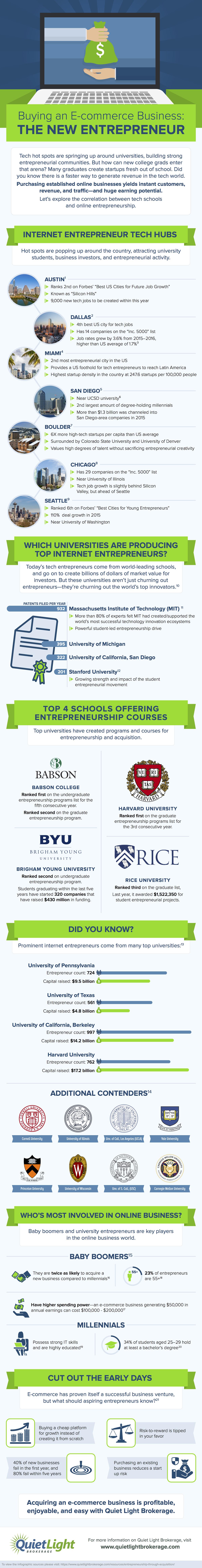 Buying An E Commerce Business: The New Entrepreneur #Infographic #Business  #Entrepreneur