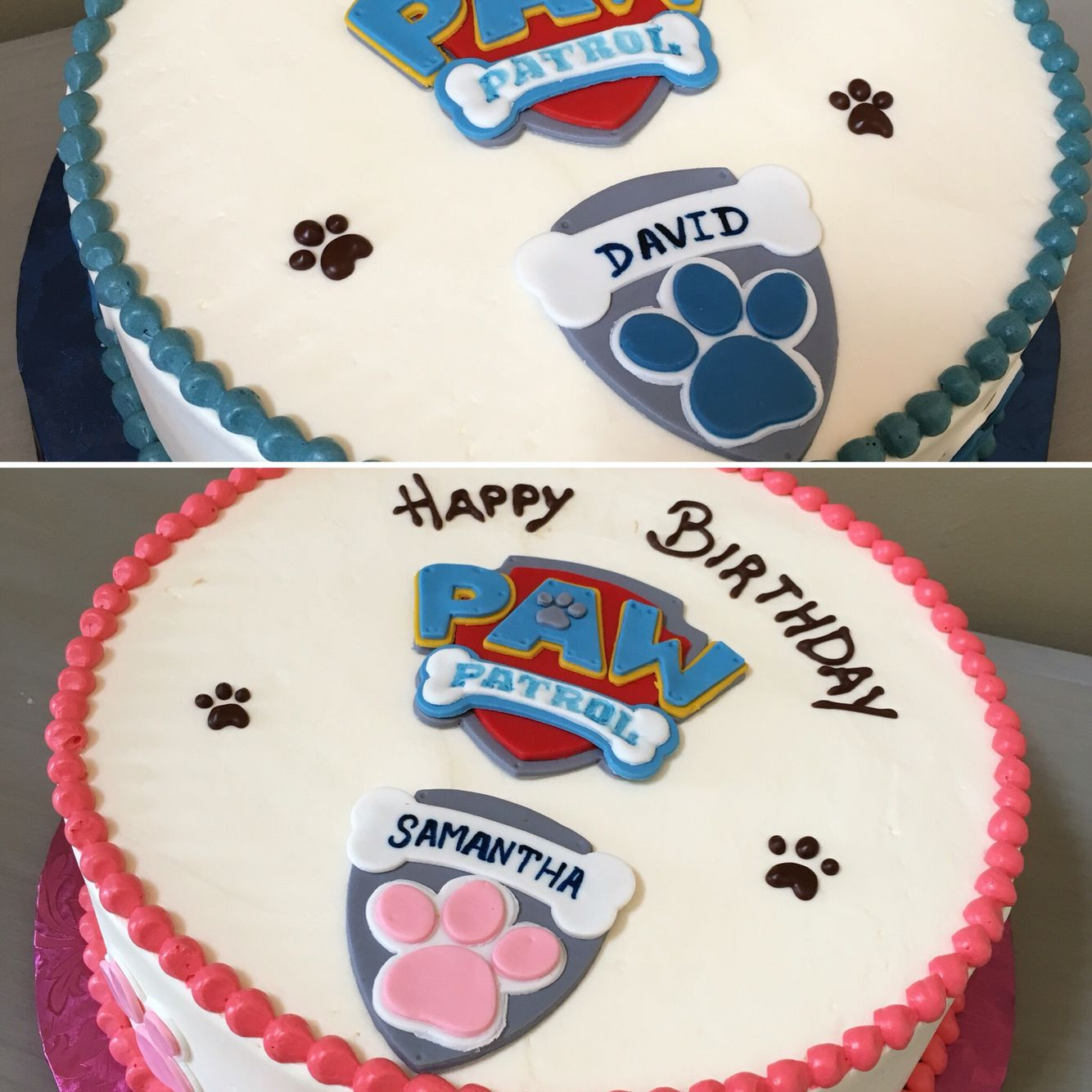 Twin Birthday With Pawpatrol Coconut And Coconut Cream Gf Cake