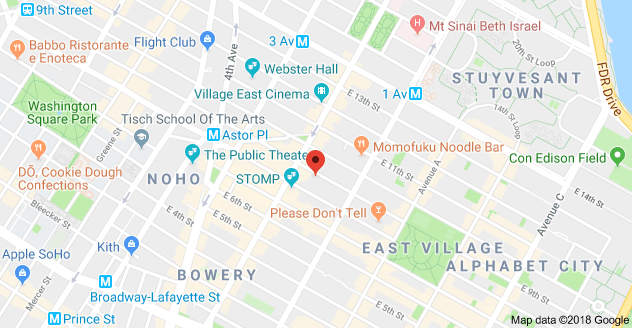 Noho Nyc Map.Map Of 320 E 9th St New York Ny 10003 Sigma Air Is Proud To Have