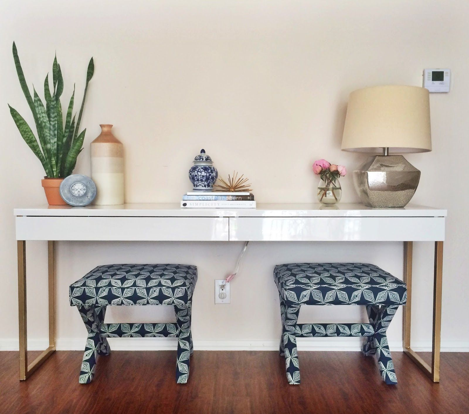 Schlafzimmer Ideen Low Budget Ikea Besta Burs Desk Hack Google Search Ideas Pinterest