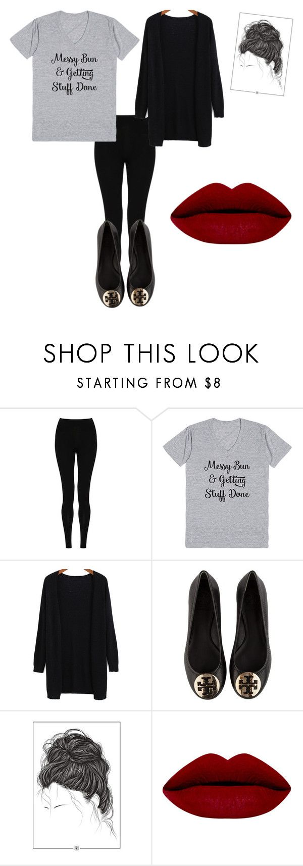 """Getting Stuff Done"" by everythingfashion ❤ liked on Polyvore featuring mode, M&S Collection, Tory Burch, women's clothing, women's fashion, women, female, woman, misses en juniors"