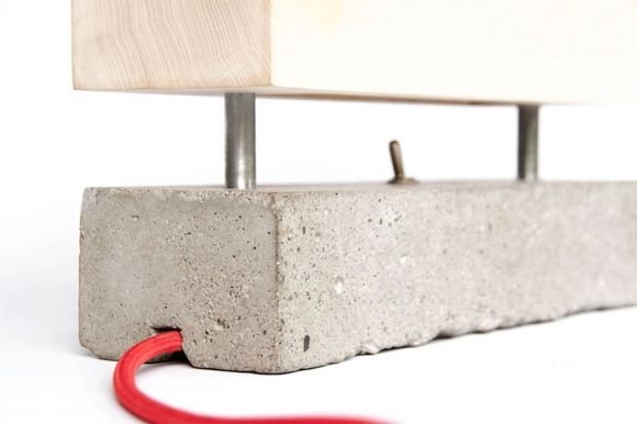 Block Lamp by Tool   Bark