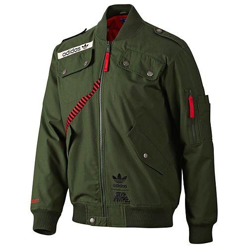7f9a28972 Adidas Star Wars flight jacket | stuff to wear | Jackets, Adidas ...