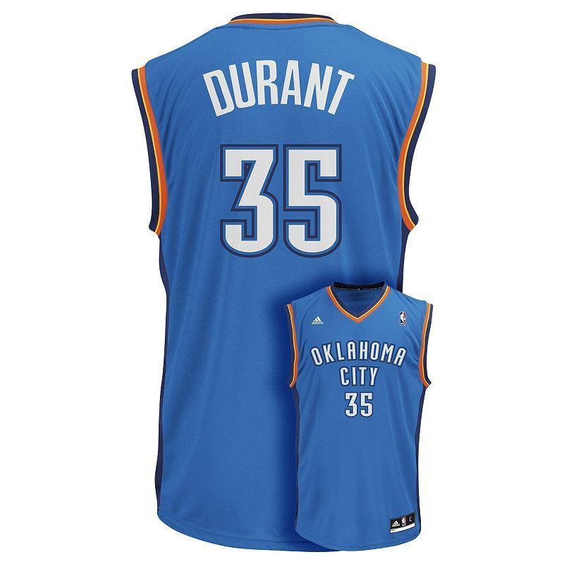 62be022a15ed Men s adidas Oklahoma City Thunder Kevin Durant NBA Jersey ...