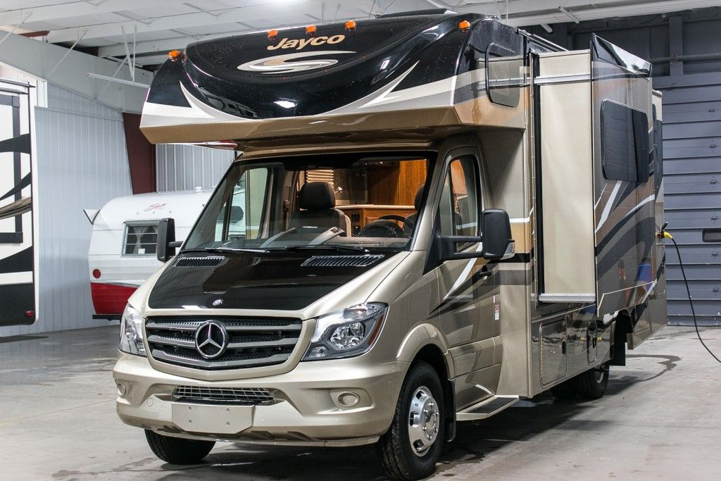 2016 Jayco Melbourne 24k Mercedes Chassis Class C Motorhome Rv Show
