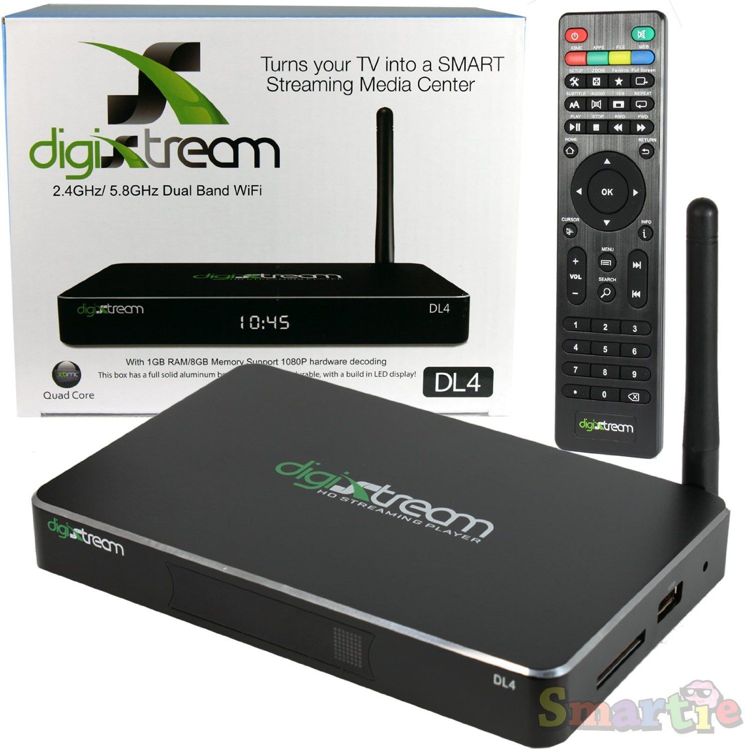 DIGISTREAM SMART TV (say goodbye to cable) Quad, Dual