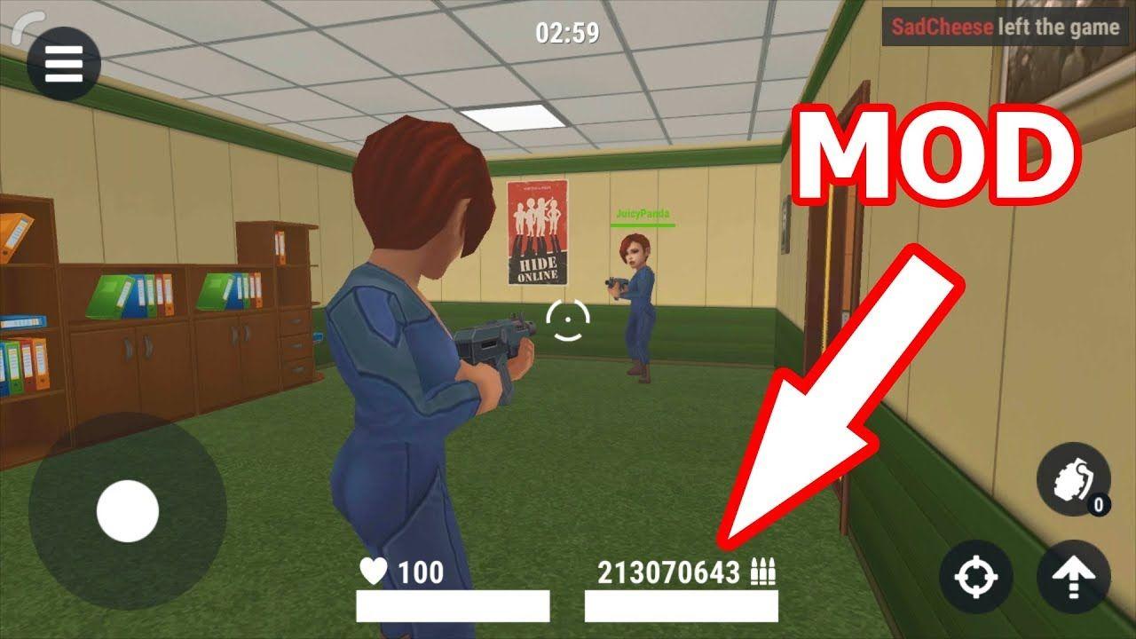 Hide Online Mod 3 5 0 The Latest Mod Apk Download Unlimited Ammo