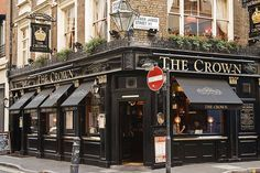 The Crown London Pubs London Pubs Pub Interior British Pub