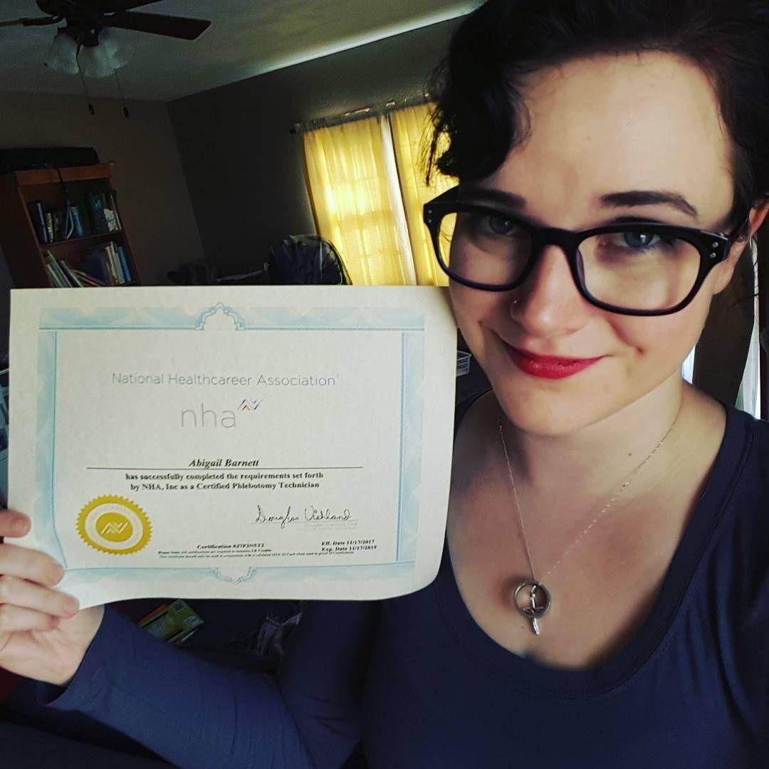 I passed my phlebotomy certification exam certified phlebotomy i passed my phlebotomy certification exam 1betcityfo Images