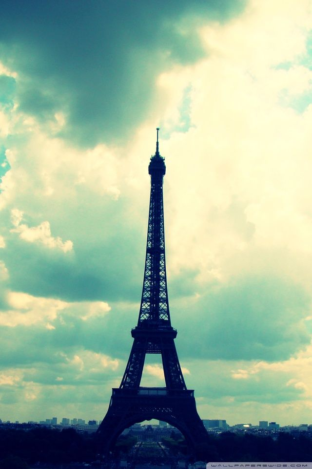 Paris Photo Eiffel Tower Iphone Wallpaper Eiffel Tower Effiel Tower Paris Photos Blue eiffel tower wallpaper hd