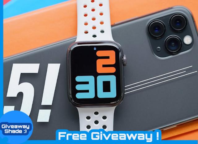 اربح ساعة ابل واتش الجيل الخامس الجديده باصدارها الرياضي المميز Win A Brand New Apple Watch Series 5 A Buy Apple Watch Apple Watch Series Apple Watch Sport