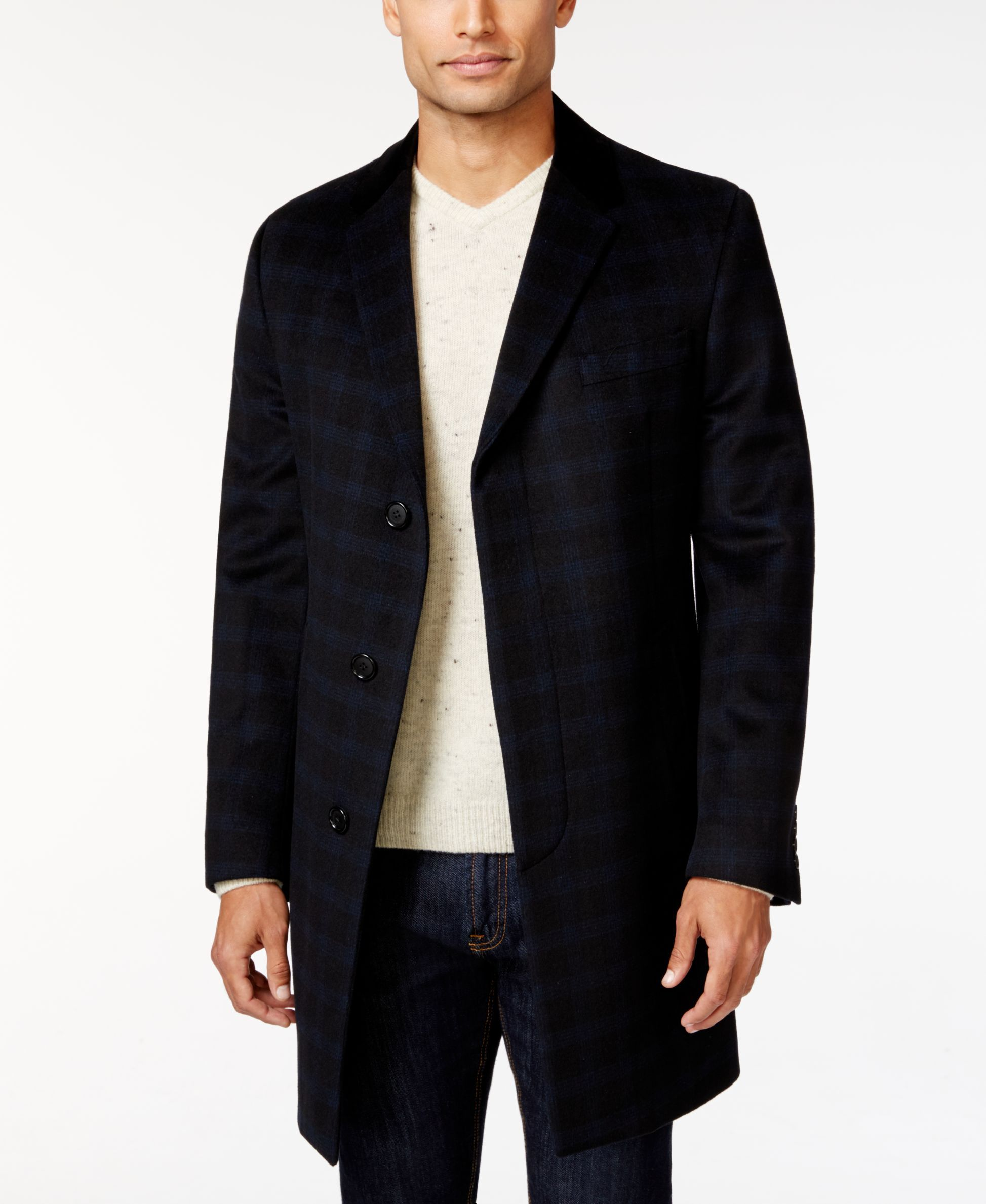 Tommy Hilfiger Bleeker Chesterfield Slim Fit Overcoat Coats Jackets Men Macy S Tommy Hilfiger Overcoats Fashion [ 2378 x 1947 Pixel ]