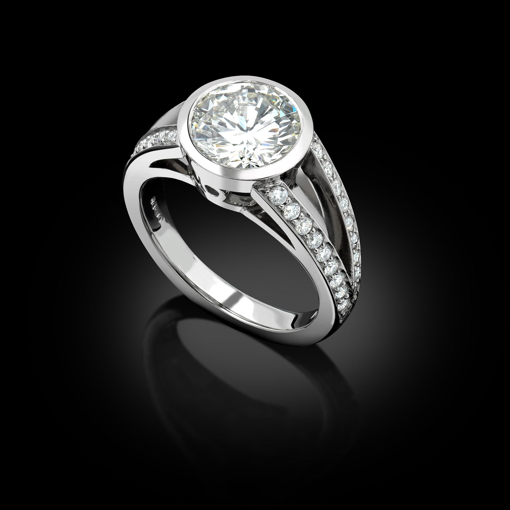 Gallery custom made diamond engagement rings tailor made jewellery