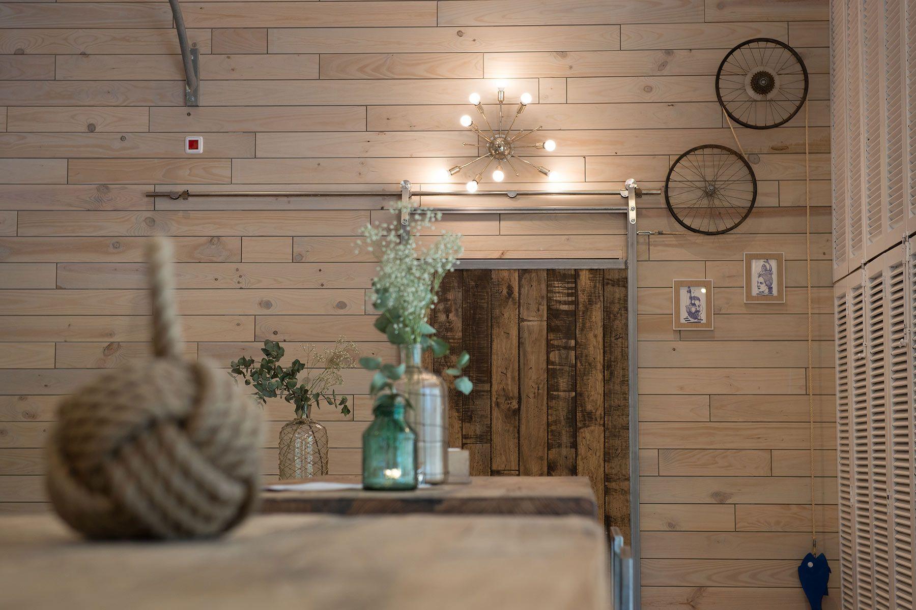 Madrid Gallega Framed Bathroom Mirror Restaurant Decor