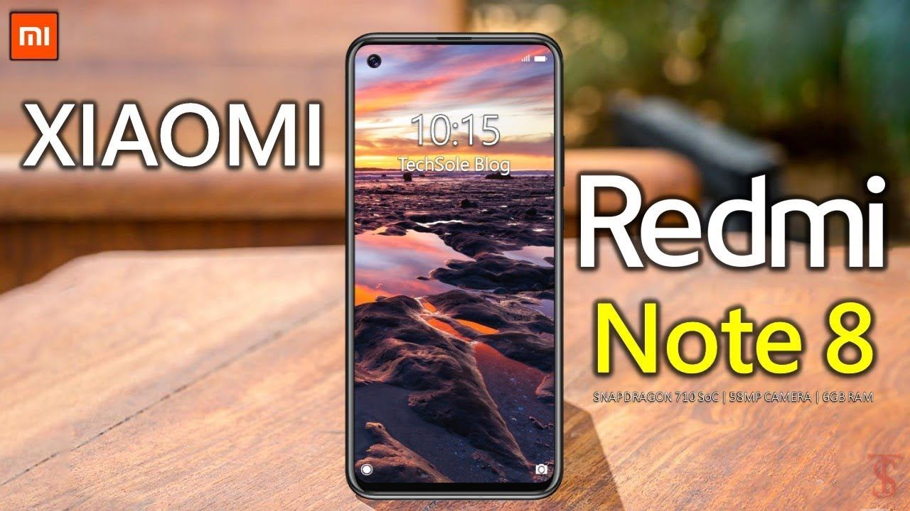 Xiaomi Redmi Note 8 Price, First Look, Introduction, Specs