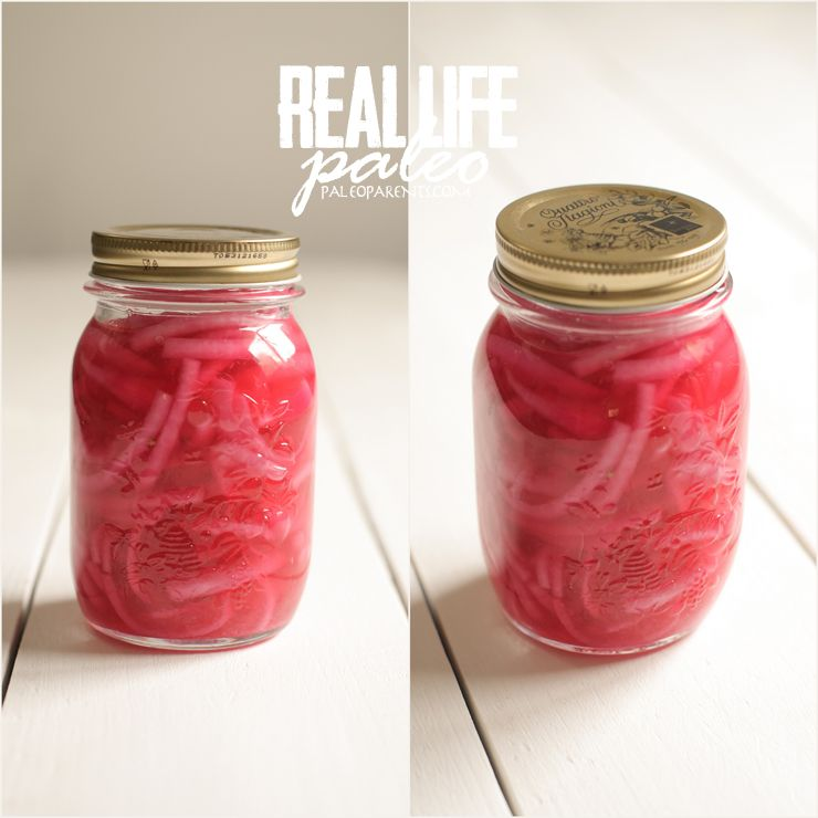 Pickled Onions from Real Life Paleo on Paleo Parents