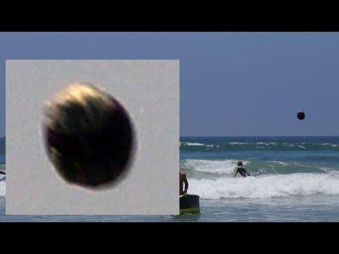 Stunning UFO Over Huntington Beach California, July 31, 2013 - YouTube ... UFO vehicle or meteor? hmmm