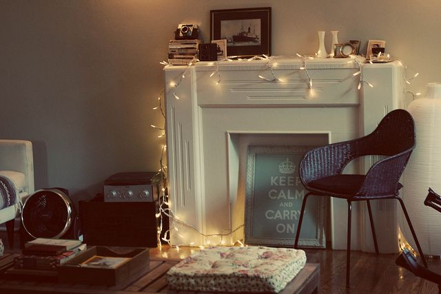 Decorate your home with fairy lights proptiger blog also homes rh pinterest