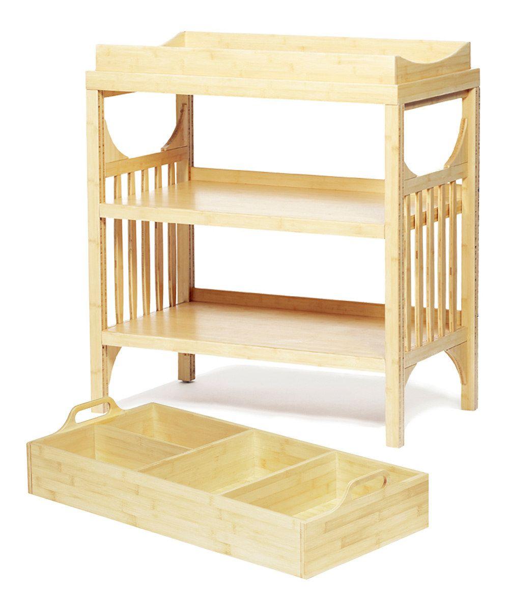 Zulily baby cribs - Argington Bamboo Bam Changing Table Diaper Caddy
