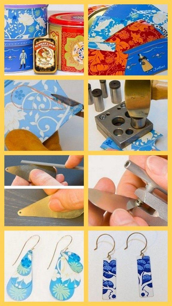 Comment fabriquer des bijoux en tain blog bijoux et comment - Faire des bijoux ...