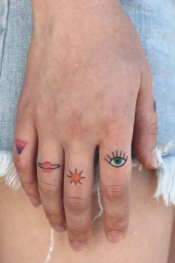 Photo of Creative Small Finger Tattoo Designs For Women –