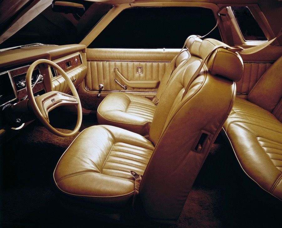 1978 Ford Granada Coupe Interior
