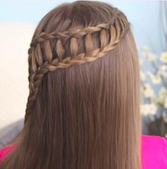 la trenza lateral es un estilo super bonito que regularmente va por encima del hombro este tipo de peinados son muy fciles de hacer y cuentan con un toque - Peinados De Trenzas Faciles