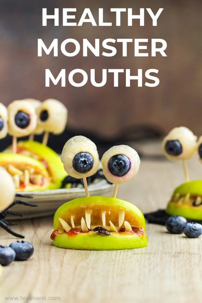 Are you looking for some healthy Halloween snacks for the kiddos? These healthy monster mouths are the perfect answer for you. They are filled with delicious and healthy ingredients and are naturally paleo, vegan, gluten-free, grain-free and dairy-free!