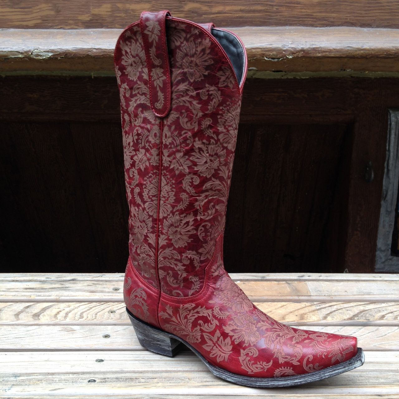 0cb791e01ad Old Gringo's Nadia Red Cowgirl Boots - Space Cowboy Boots, NYC | Old ...
