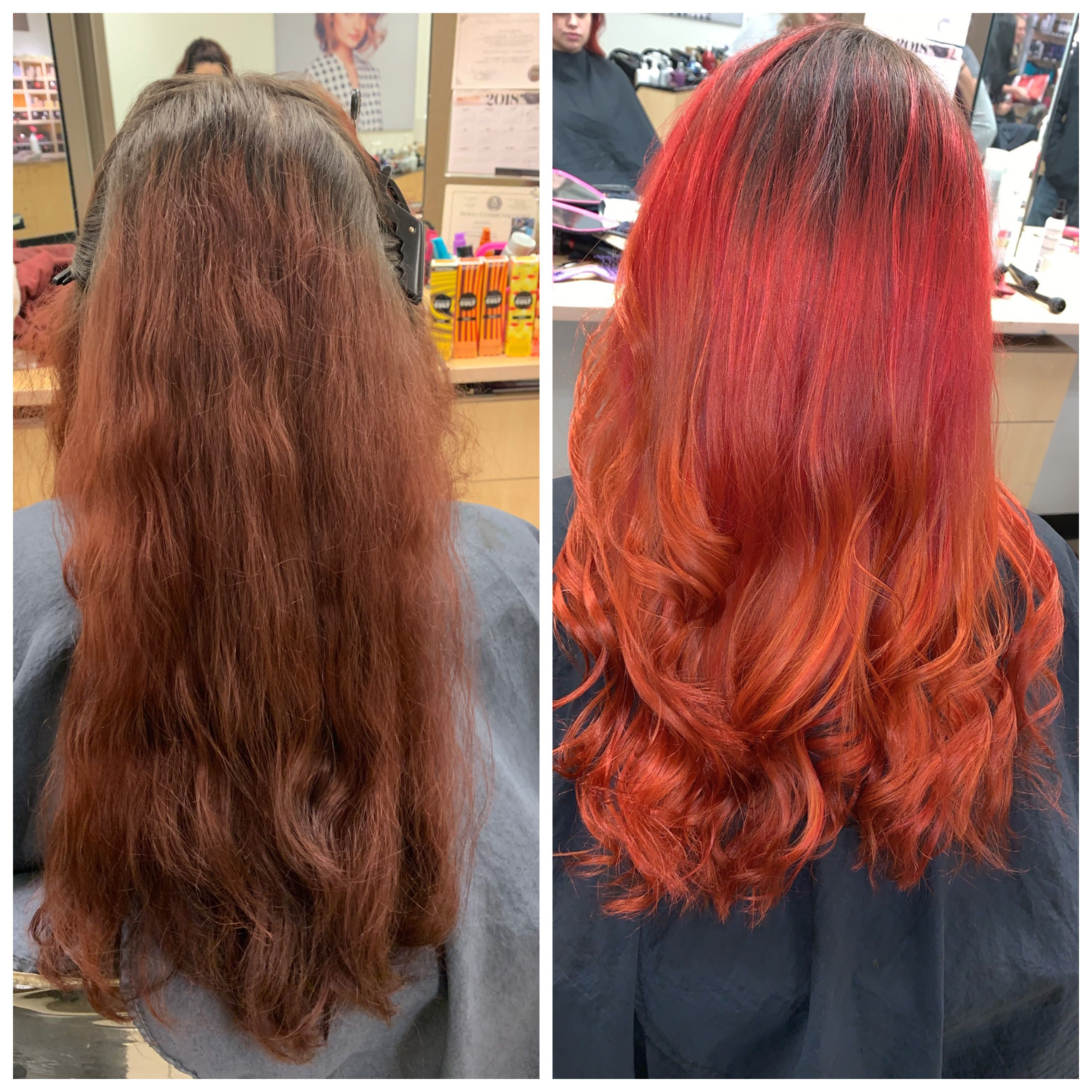 My Before And After Hair Long Hair Styles My Hair