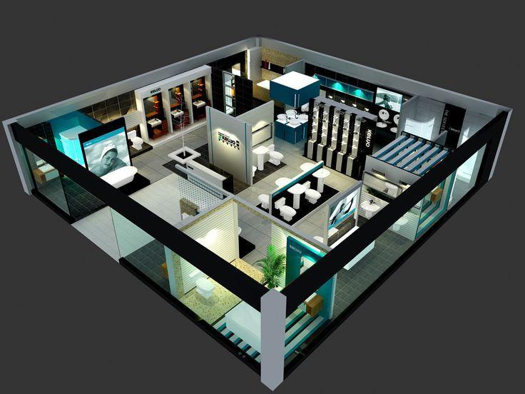 Sanitary Ware Showroom Design