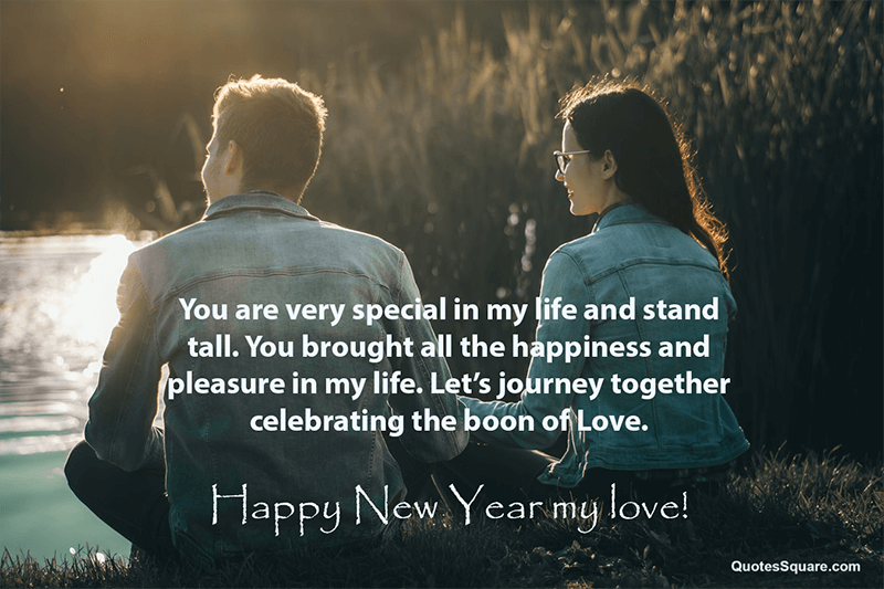 Romantic New Year Wishes Messages For Wife From Husband Happy New Year Love Quotes Happy New Year Love Happy New Year Quotes