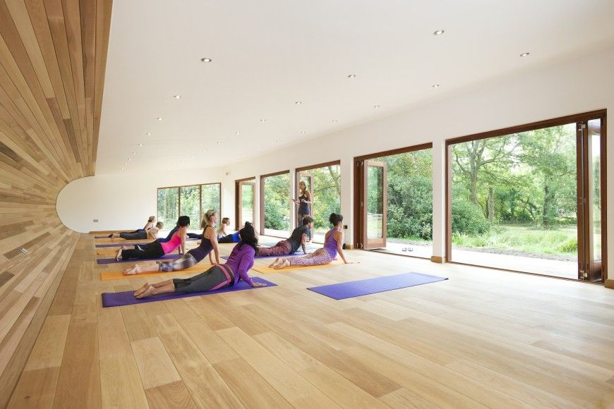 Sublime Yoga Studio By Blue Forest Treehouse Design Yoga